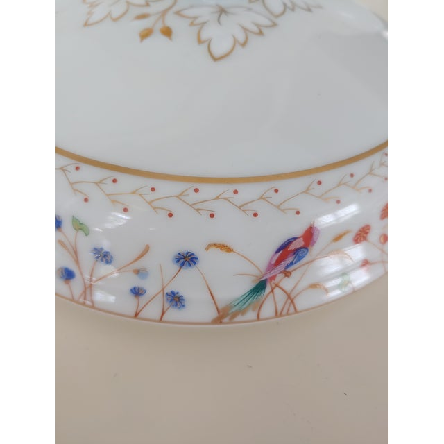 White 1990s Tiffany Audubon Soup Tureen For Sale - Image 8 of 9