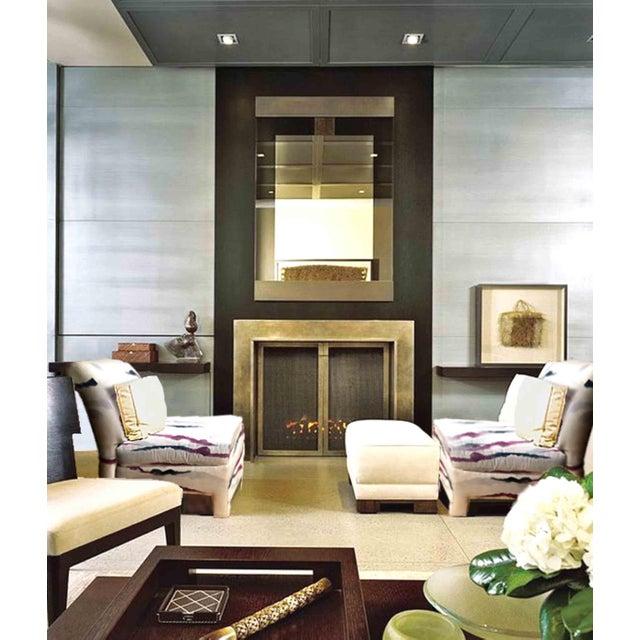 Modern Sherrill Furniture Slipper Chairs A Pair Chairish