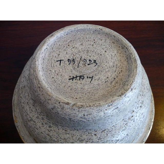 Bitossi Mid-Century Cave Painting Bowl For Sale - Image 5 of 5