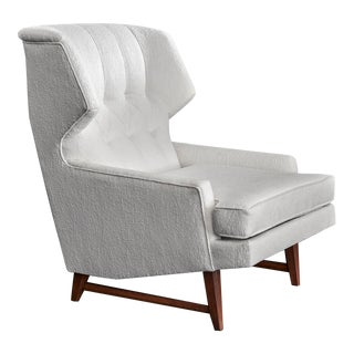 20th Century Modern Wingback Lounge Chair 1960s For Sale