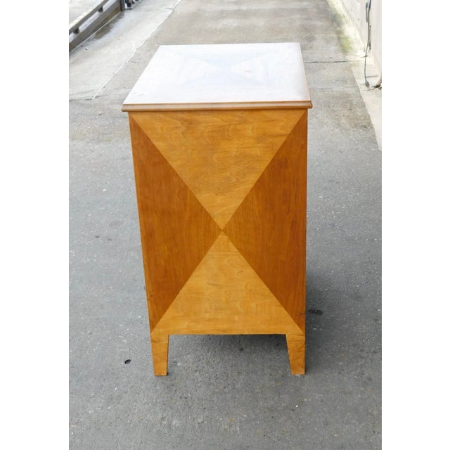 1950s Swedish Mid-Century Modern Open Filing Cabinet For Sale In Richmond - Image 6 of 9