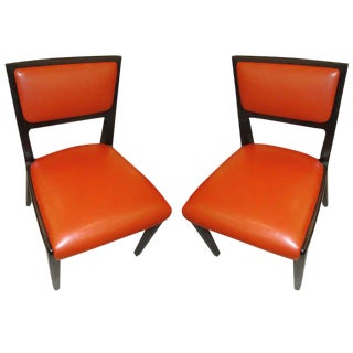 Pair of Ed Wormley Chairs For Sale