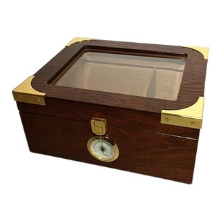 Quality Importers Capri Elegant Desktop Humidor For Sale