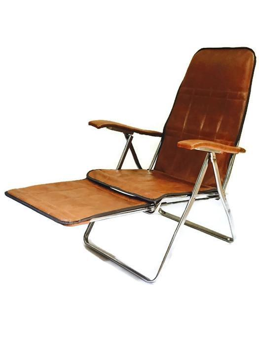 Ordinaire 1970s Mid Century Modern Reclining Lounge Chair Italian Arm Chair Folding  Lounge Chair For Sale