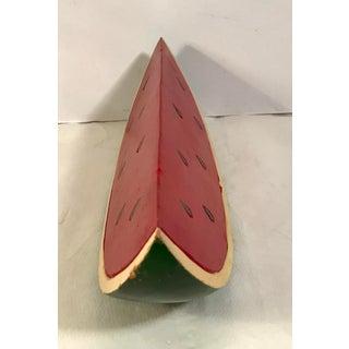 Vintage Wooden Watermelon Slice Preview
