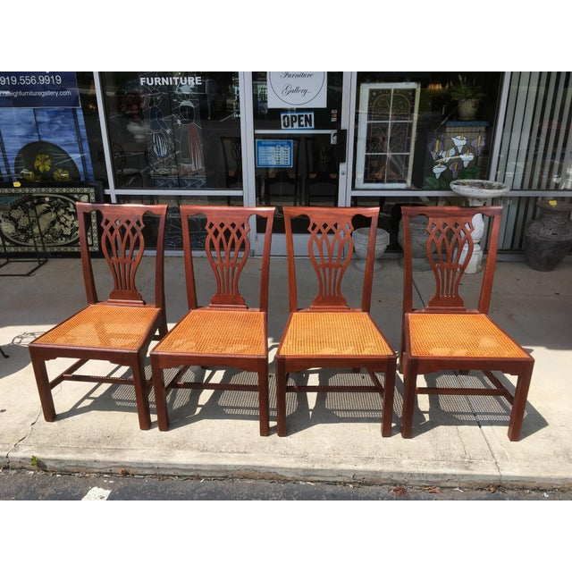 Baker Furniture Dining Chairs - Set of 4 - Image 4 of 6