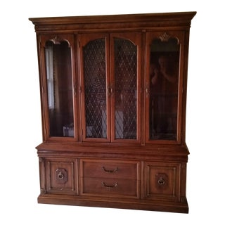 Thomasville Vintage China Cabinet C.1960 For Sale