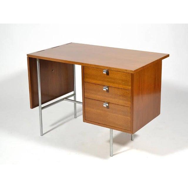 1940s George Nelson Model 4754 Drop Leaf Desk by Herman Miller For Sale - Image 5 of 10