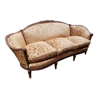 Louis XV Style Sofa & Lounge Chair