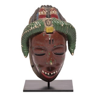 Baule Kpan Mask For Sale