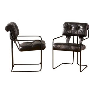 Black I4 Mariani Tucroma Chairs, 10 Available For Sale