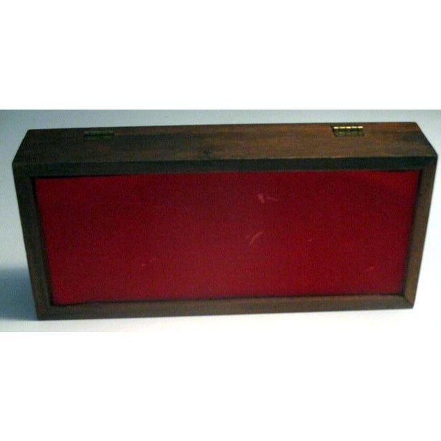 1960s 1960s Mid-Century Modern Rosewood Box With Abstract Enamel Top For Sale - Image 5 of 7