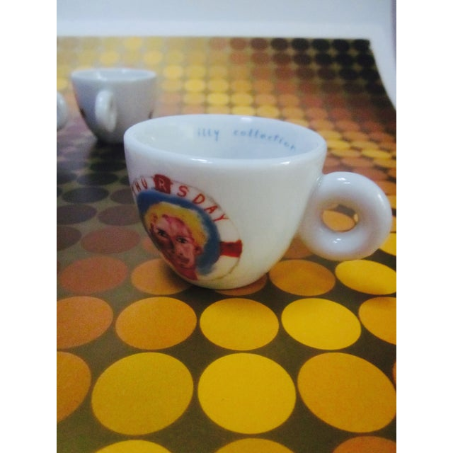 illy Espresso Cups by Julian Schnabel, 2005 - S/5 - Image 9 of 11
