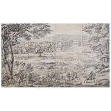 Image of French Provincial Toile De Jouy Textile Panels For Sale