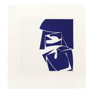 "Joanne Freeman ""Covers 3 Ultramarine"" Print For Sale"