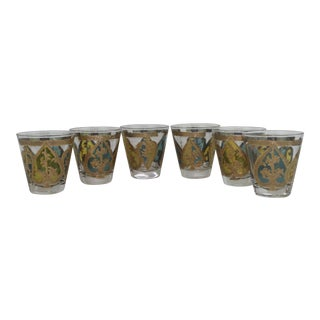 Georges Briard Spades Cocktail Glasses - Set of 6