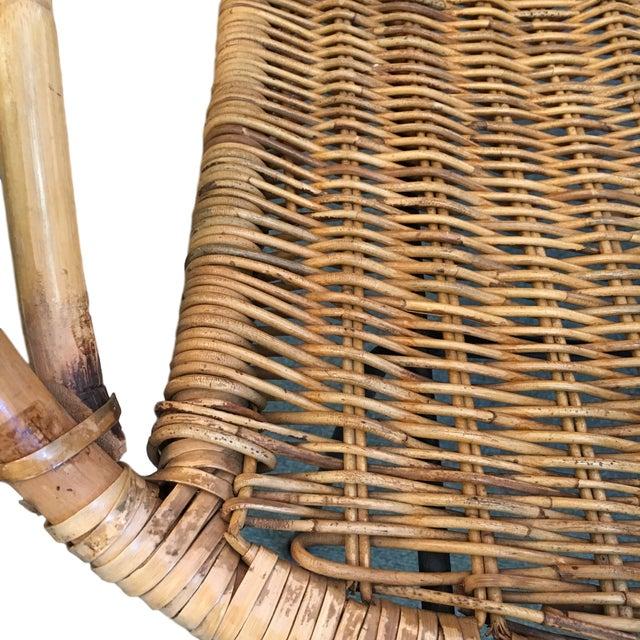 Vintage Rattan Hoop Chair - Image 5 of 5