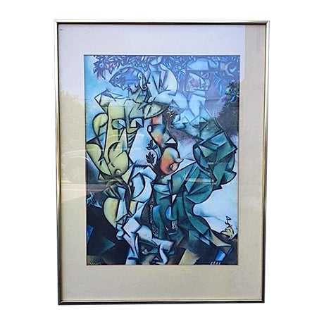 """Temptation"" Framed Print by Marc Chagall - Image 1 of 7"