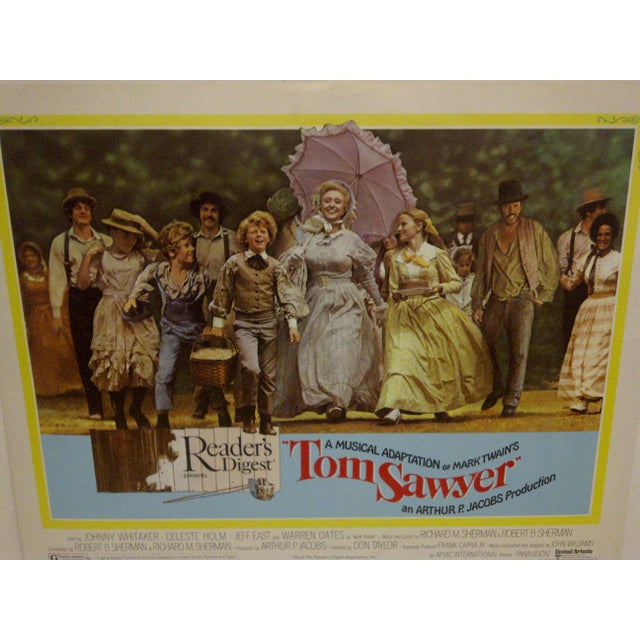 "Vintage Movie Poster A Musical Adaptation of Mark Twains ""Tom Sawyer"" 1973 For Sale In Pittsburgh - Image 6 of 6"