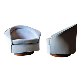 1960s Adrian Pearsall for Craft Associates Lounge Chairs - a Pair For Sale
