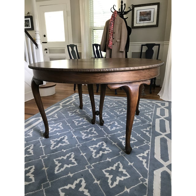 Vintage Round Dining Table - Image 3 of 9