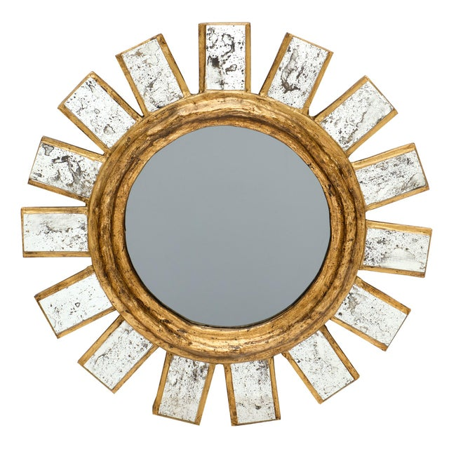 French Sunburst Mirror For Sale - Image 10 of 11
