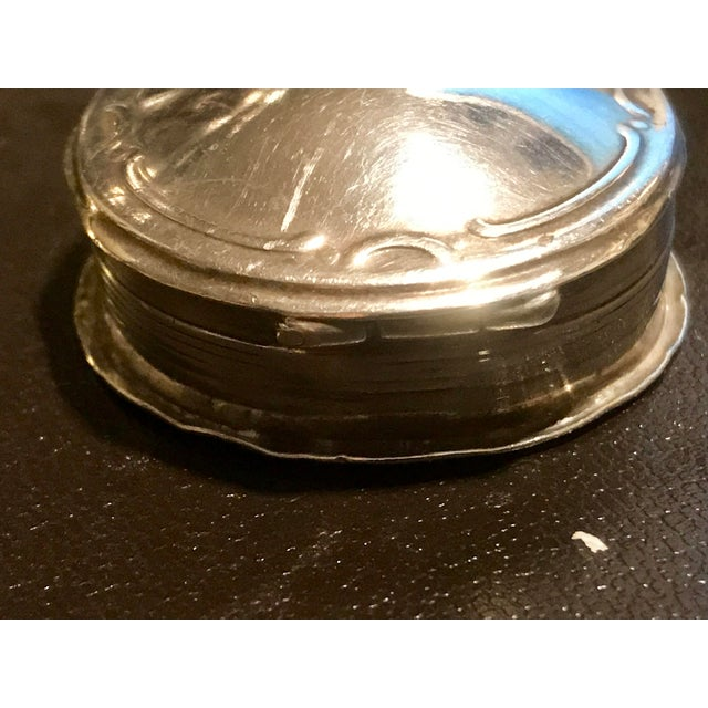 Antique Sterling Silver German Box - Image 5 of 9