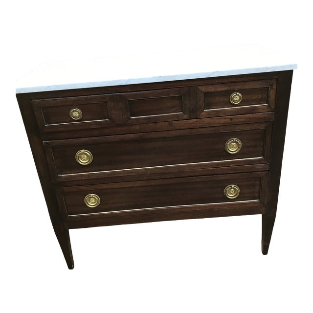 1960s French Empire Style Commode For Sale