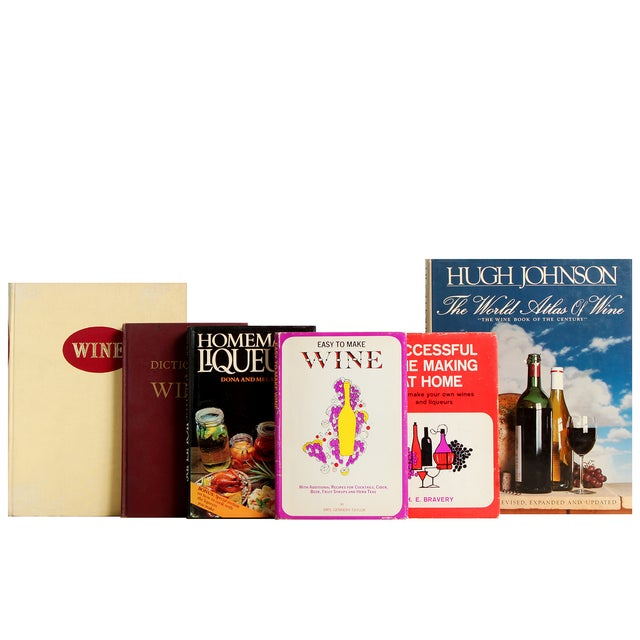 Vintage Beverages, S/15. Fifteen vintage volumes for the beverage connoisseur. Includes: The Complete Book of Wines,...