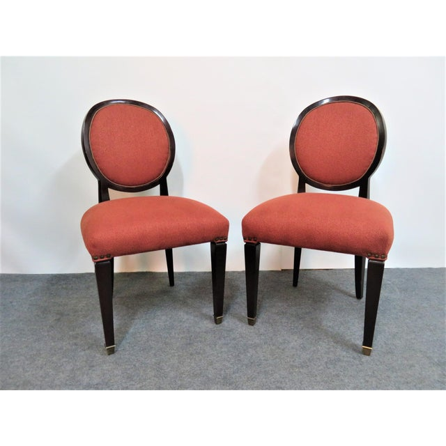 John Widdicomb Hepplewhite Dining Chairs - Set of 6 - Image 2 of 8