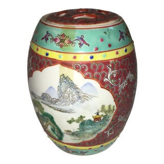 Chinese Porcelain Incense Holder For Sale