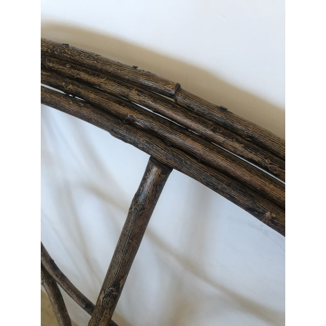Antique Rustic Adirondack Twig Chair For Sale In Philadelphia - Image 6 of 13