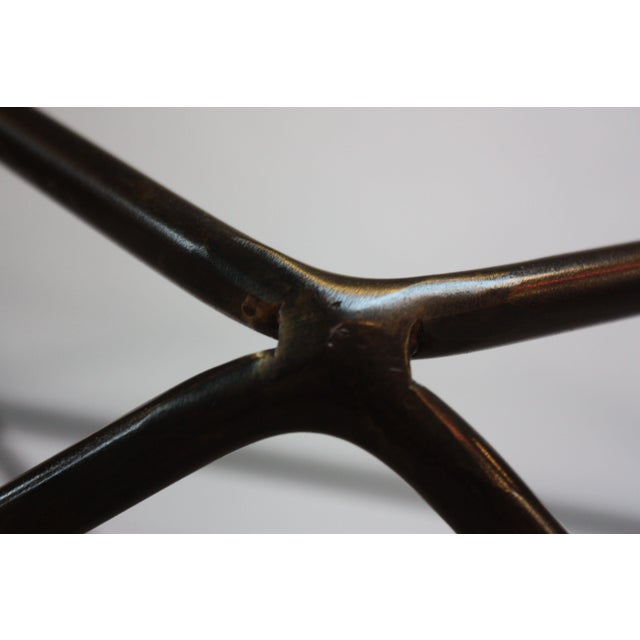 Milo Baughman for Directional Geometric Bronze Coffee Table For Sale In New York - Image 6 of 13