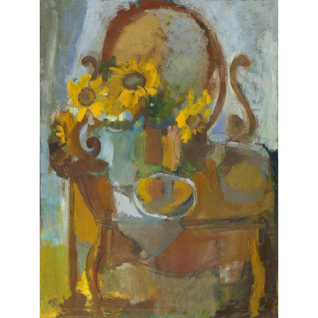 """Amy Griffith Colley """"Sunflowers and Curio"""" Print For Sale"""