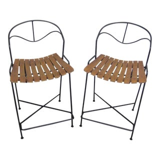 Mid-Century Arthur Umanoff Bar Stools- A Pair For Sale