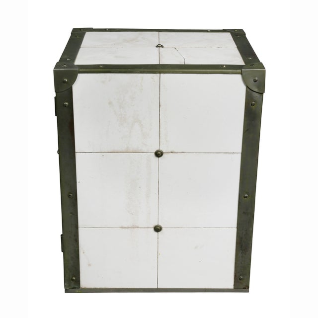 Cigar Humidor in the Form of Icebox For Sale - Image 9 of 11
