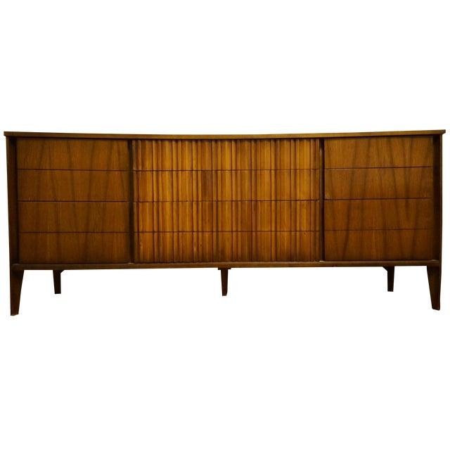 Mid-Century Modern 9-Drawer Dresser - Image 1 of 11