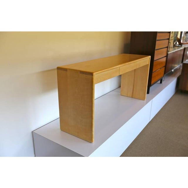 Gerald McCabe Solid Birch Console Table - Image 6 of 7