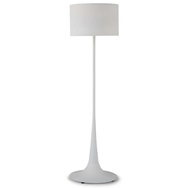 Trilogy Floor Lamp in White For Sale In Detroit - Image 6 of 6