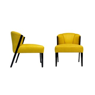 Crown Accent Chair - a Pair For Sale