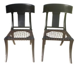 Image of Ebony Side Chairs