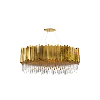 Empire Oval Suspension From Covet Paris For Sale
