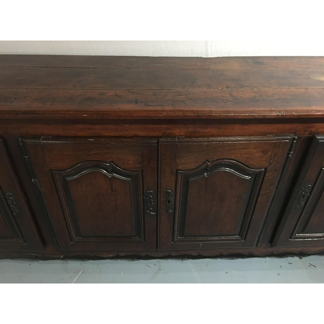 Louis XV Period Buffet in Walnut For Sale - Image 4 of 13