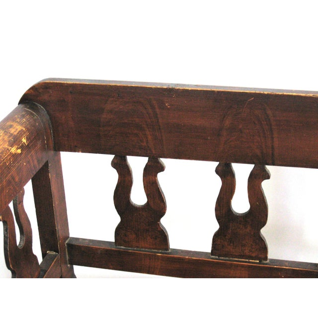 Antique Swedish Bench For Sale - Image 4 of 10
