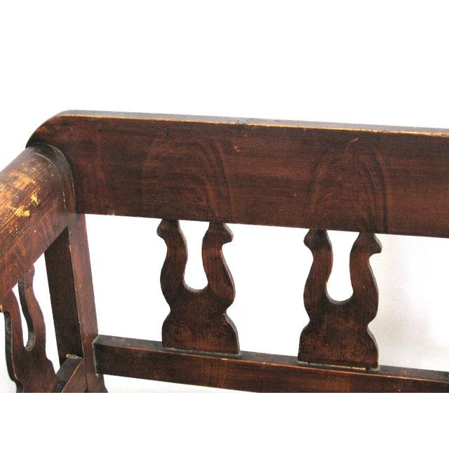 Antique Swedish Bench - Image 4 of 10
