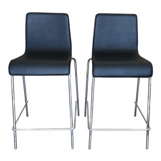 Blu Dot Counter Stool, Set of Two For Sale
