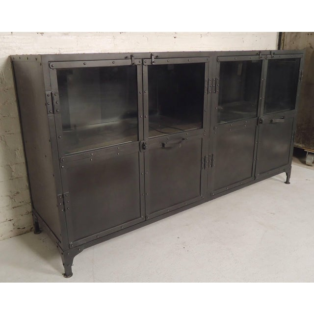 Black Metal Console For Sale In New York - Image 6 of 6