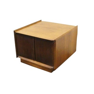 Mid-Century Modern Lane Altavista First Edition Collection Storage End Table For Sale