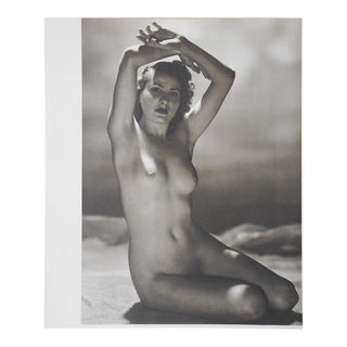 Vintage Nude Photogravure C.1941-Parisian Women For Sale