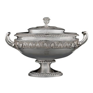 George Iv Silver Tureen by Paul Storr For Sale